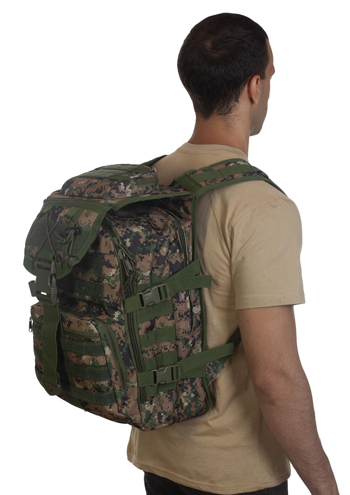 Камуфляжный тактический рюкзак Digital Woodland в Военпро