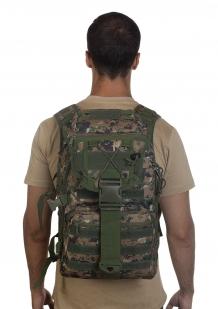 Камуфляжный тактический рюкзак Digital Woodland - высокое качество