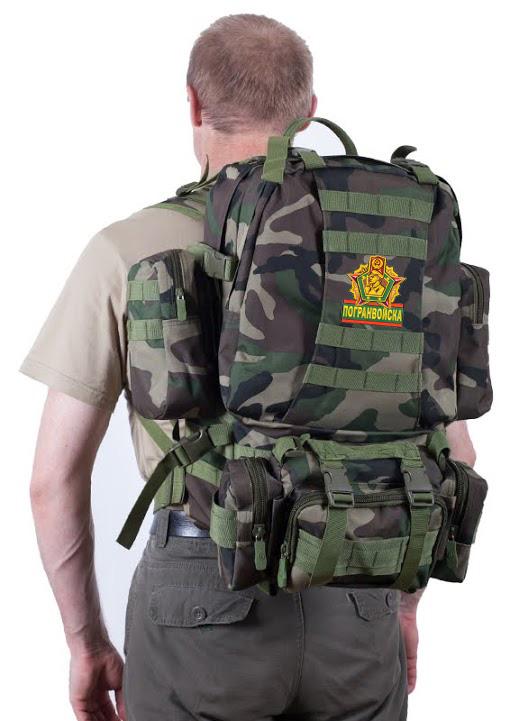 Камуфляжный тактический рюкзак US Assault Погранвойск - купить оптом