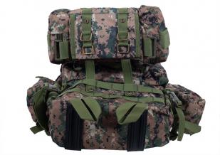 Камуфляжный тактический рюкзак US Assault с нашивкой Афган - купить в подарок