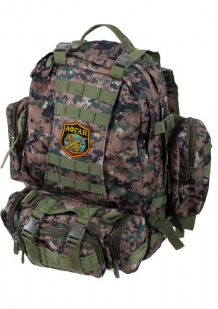Камуфляжный тактический рюкзак US Assault с нашивкой Афган - купить в розницу