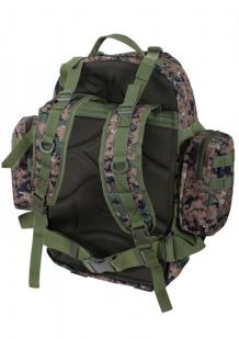 Камуфляжный тактический рюкзак US Assault с нашивкой Афган - купить с доставкой