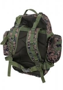 Камуфляжный тактический рюкзак US Assault с нашивкой Погранслужбы - купить в подарок