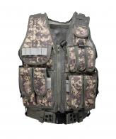 Камуфляжный тактический жилет-разгрузка для охоты