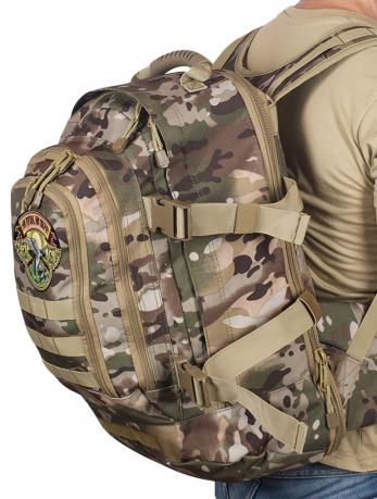 Камуфляжный трехдневный рюкзак с нашивкой Ни Пуха ни Пера - купить выгодно