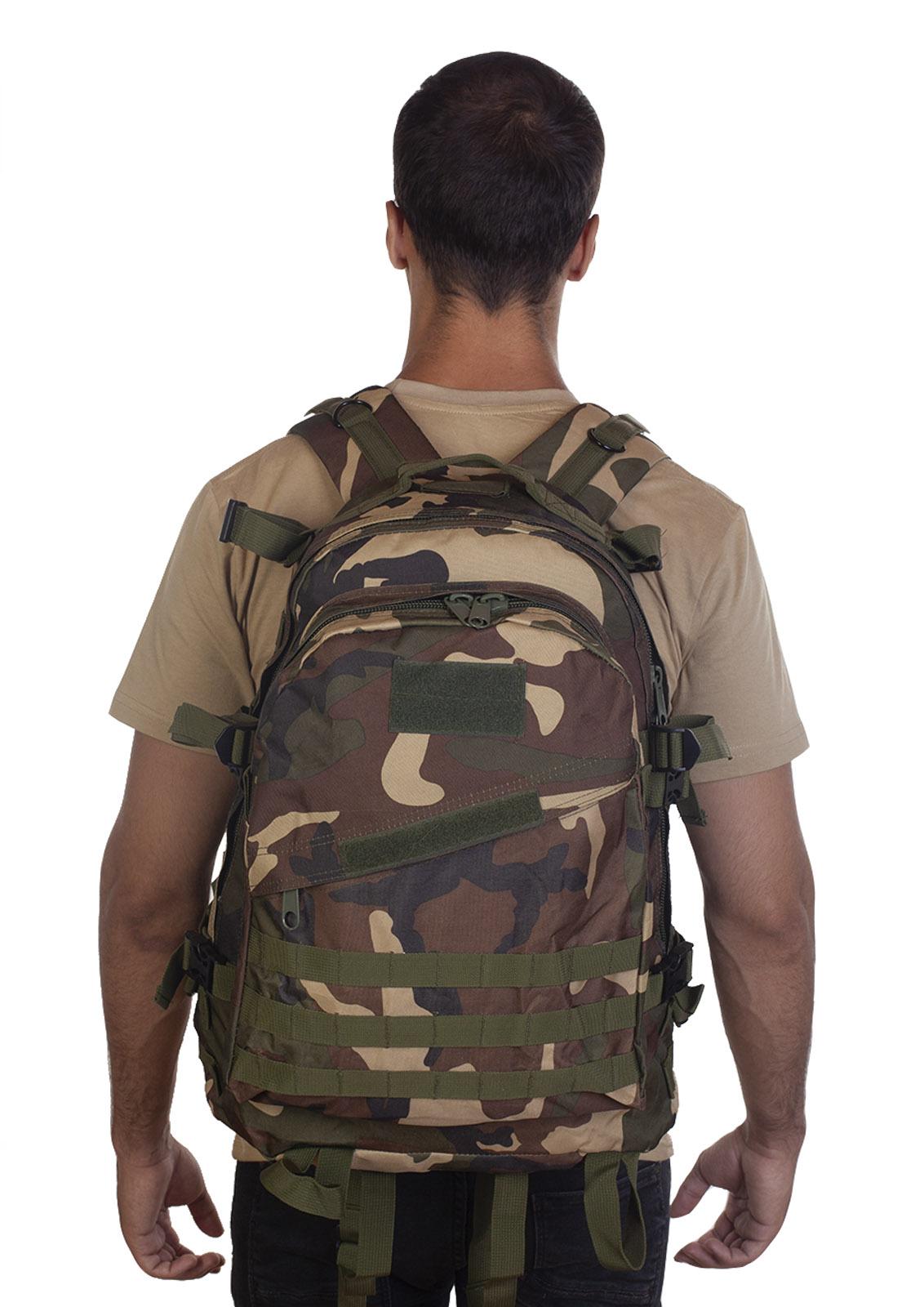 Камуфляжный рюкзак расцветки Woodland - в розницу и оптом