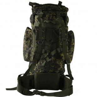 Камуфляжный туристический рюкзак с нашивкой НИ ПУХА, НИ ПЕРА! - купить в подарок