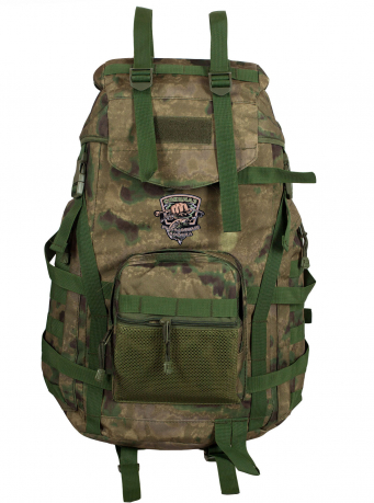 Камуфляжный туристический рюкзак с нашивкой Рыболовных войск