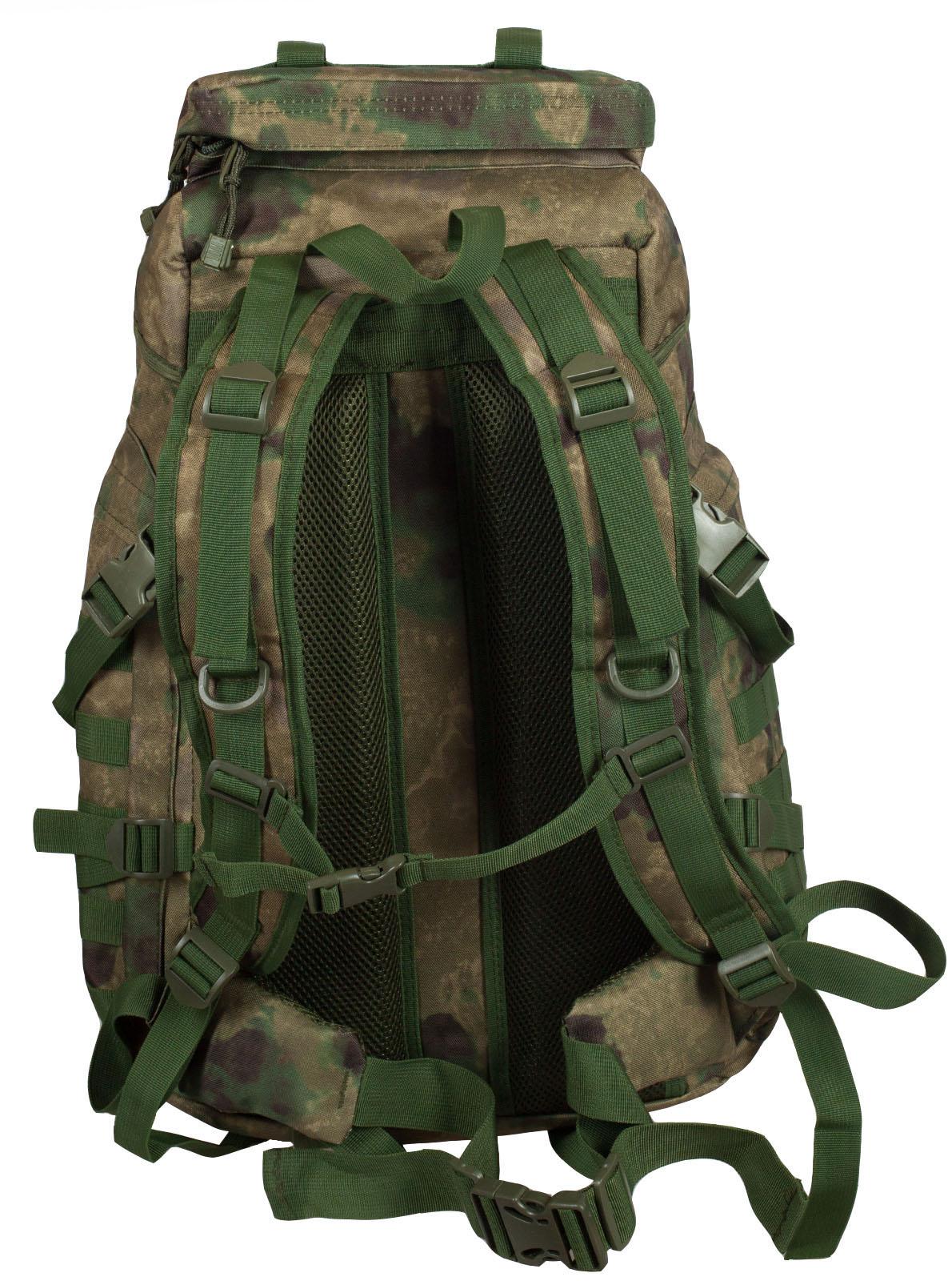 Заказать камуфляжный туристический рюкзак с нашивкой Рыболовных войск