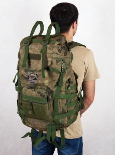 Камуфляжный туристический рюкзак с нашивкой Рыболовных войск купить выгодно