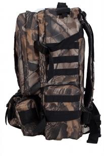 Камуфляжный удобный милитари-рюкзак с нашивкой Полиция России - купить онлайн