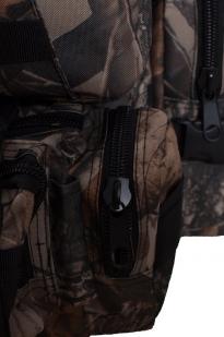 Камуфляжный удобный милитари-рюкзак с нашивкой Полиция России - купить в розницу