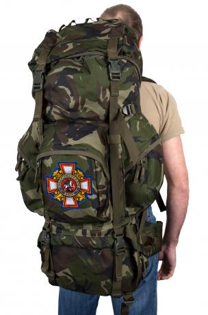 Камуфляжный вместительный рюкзак с нашивкой Потомственный Казак