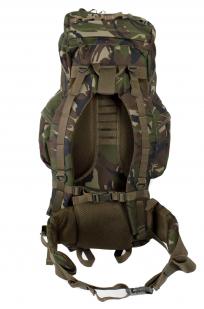 Камуфляжный вместительный рюкзак с нашивкой Потомственный Казак - заказать в розницу