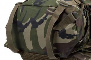 Камуфляжный вместительный рюкзак с нашивкой Потомственный Казак - заказать в Военпро