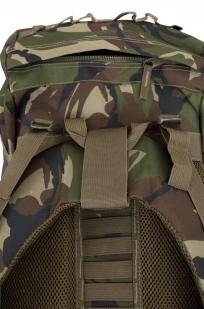 Камуфляжный вместительный рюкзак с нашивкой Потомственный Казак - заказать в подарок