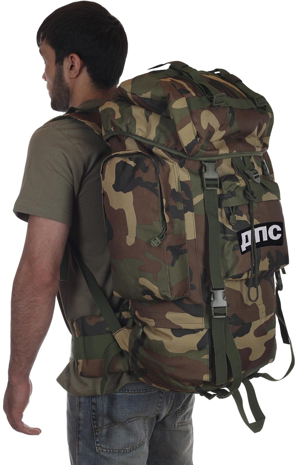 Камуфляжный военный рюкзак CCE с нашивкой ДПС - заказать с доставкой