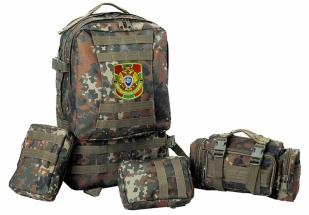 Камуфляжный военный рюкзак с нашивкой ПС - купить выгодно
