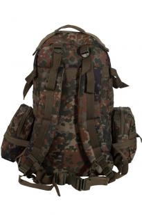 Камуфляжный военный рюкзак с нашивкой ПС - заказать в розницу