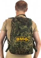 Камуфляжный военный рюкзак с нашивкой ВМФ - купить выгодно