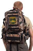 Камуфляжный зачетный милитари-рюкзак с нашивкой Танковые Войска