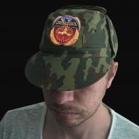 Камуфляжная кепка для военного разведчика