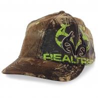 Мужская камуфляжная бейсболка Realtree для охоты, рыбалки, страйкбола и пейнтбола. Ткань не только маскирует, но и «дышит»