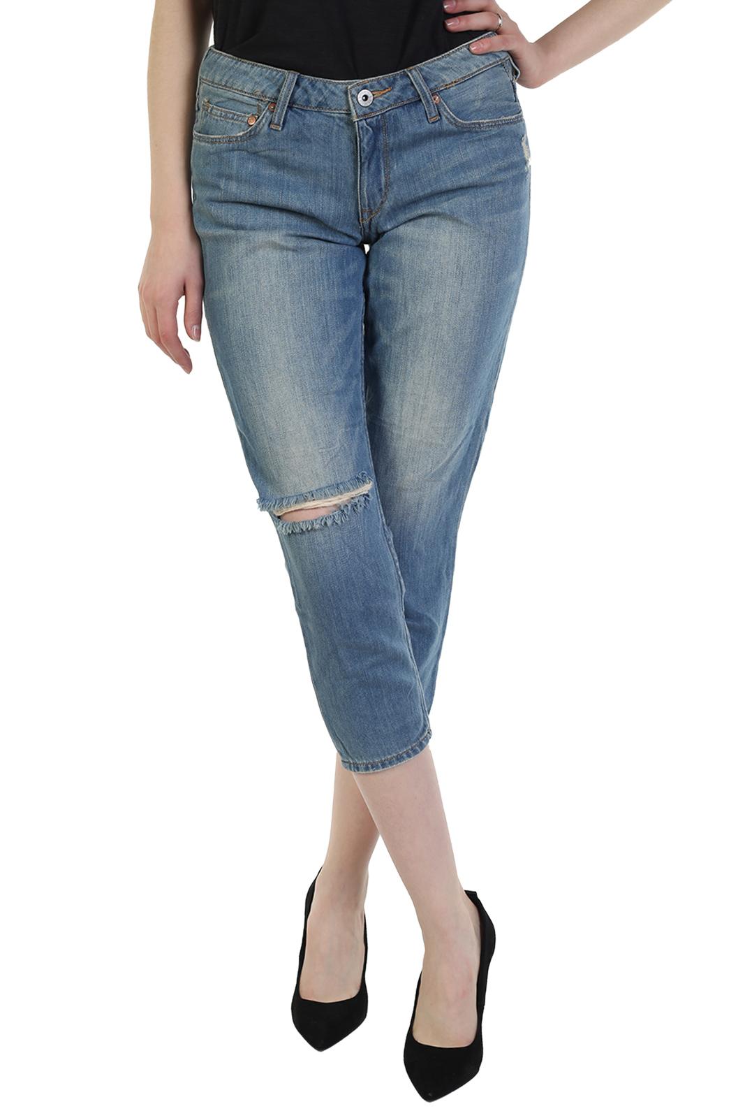 Женские джинсы капри Girlfriend Fit