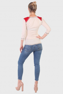 Карамельный женский реглан Panhandle Slim с рукавом ¾