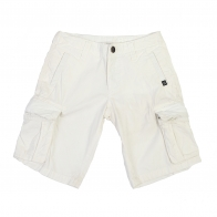 Белые мужские шорты карго Bizzbee Designproduct.