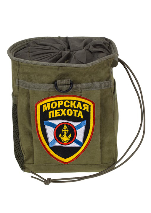 Армейский карман для фляги МОРСКАЯ ПЕХОТА