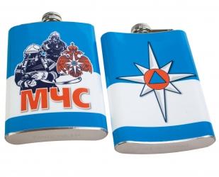 Карманная фляжка МЧС в Военпро