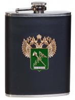 Карманная фляжка с эмблемой Таможни