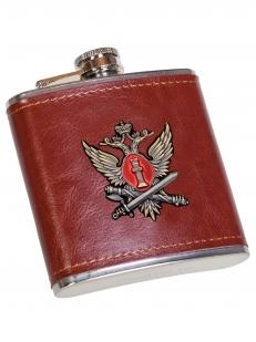 Карманная фляжка с жетоном ФСИН - отменного качества