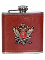 Карманная фляжка с жетоном ФСИН