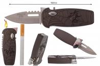 Карманная зажигалка-нож