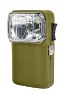 Карманный фонарик с рифленым стеклом