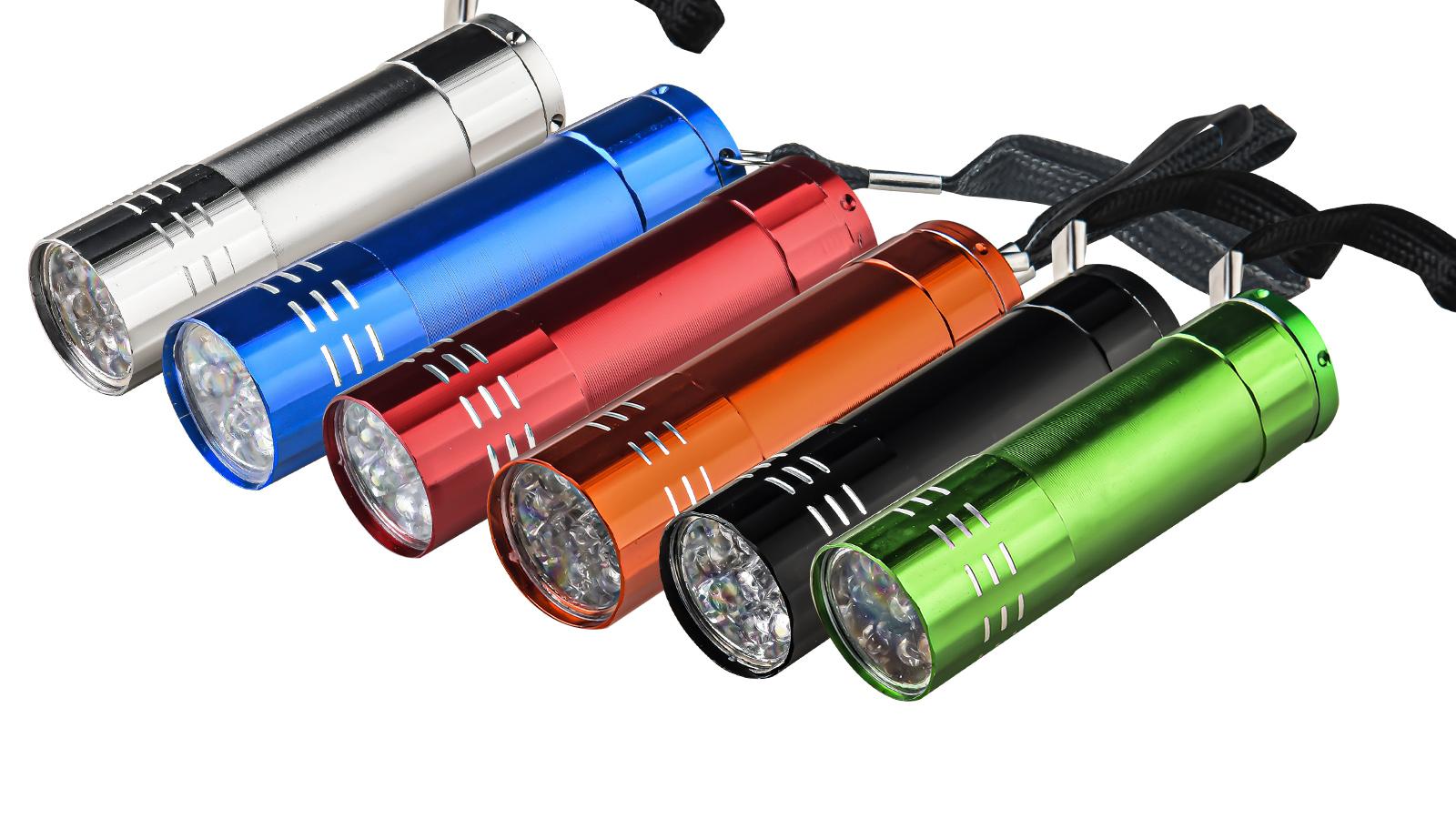 Карманный LED-фонарик (серебристый)