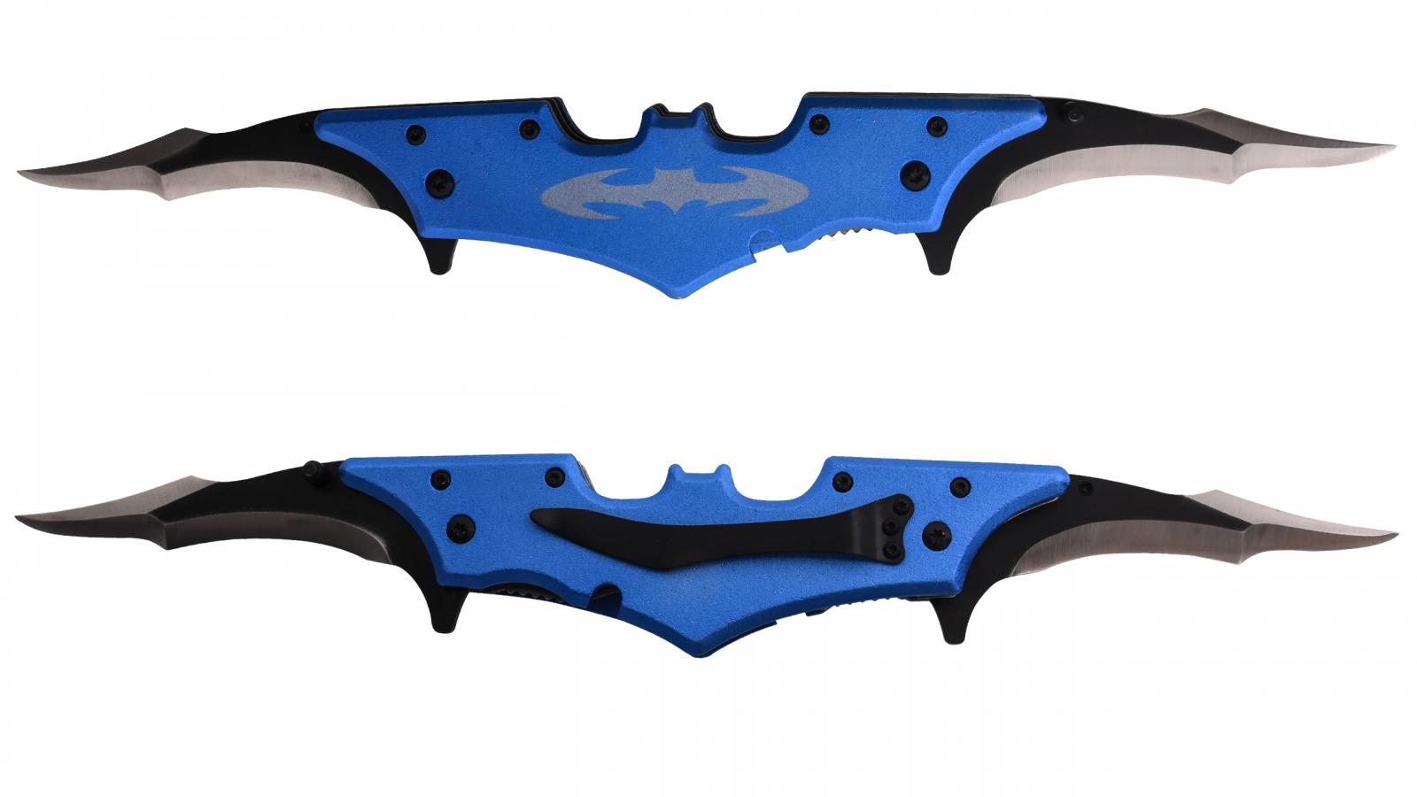 Карманный нож Бэтмена с двумя лезвиями
