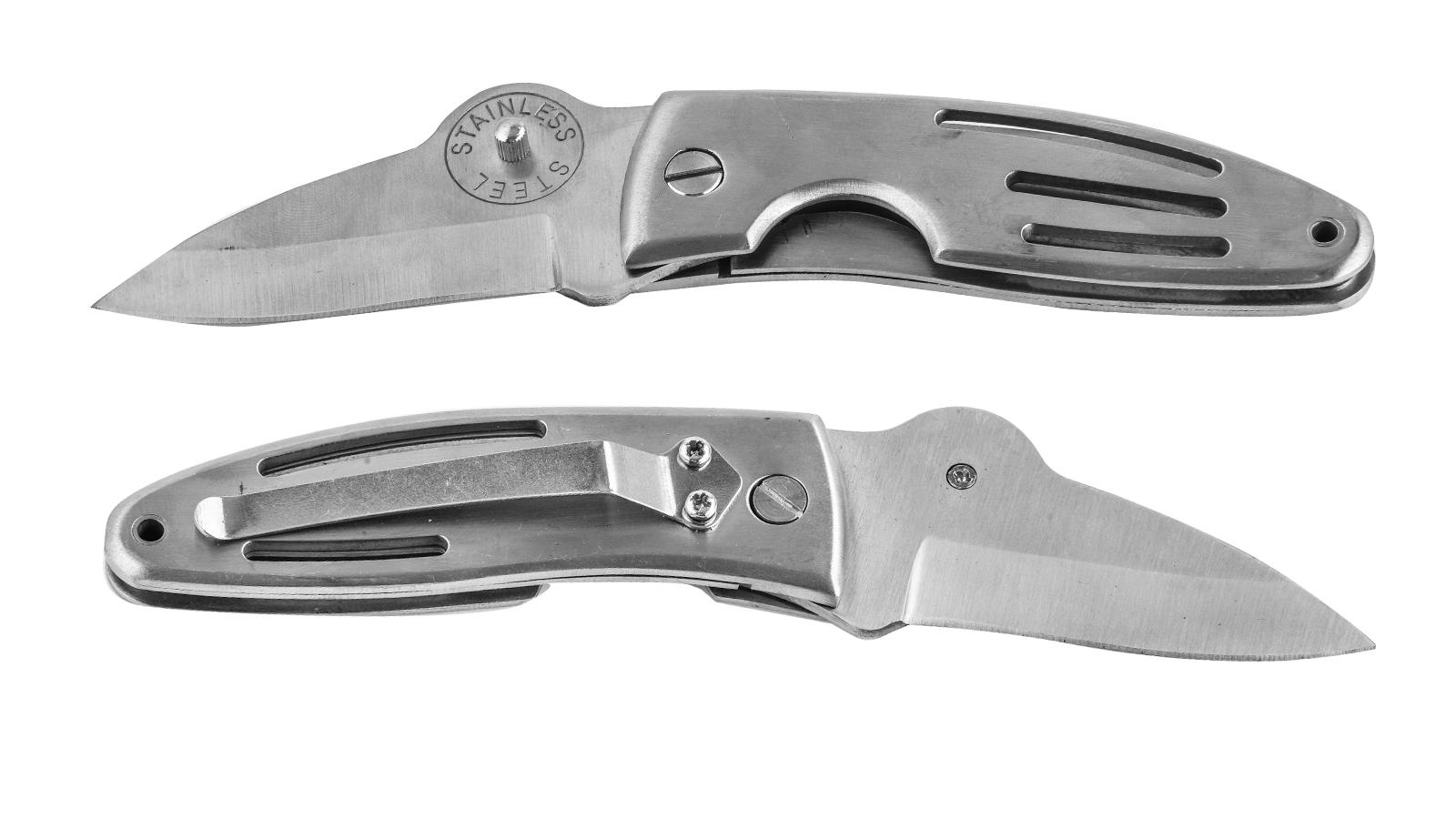 Карманный нож с коротким клинком