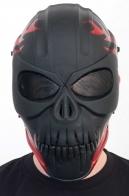 Кастомная маска Призрачный гонщик