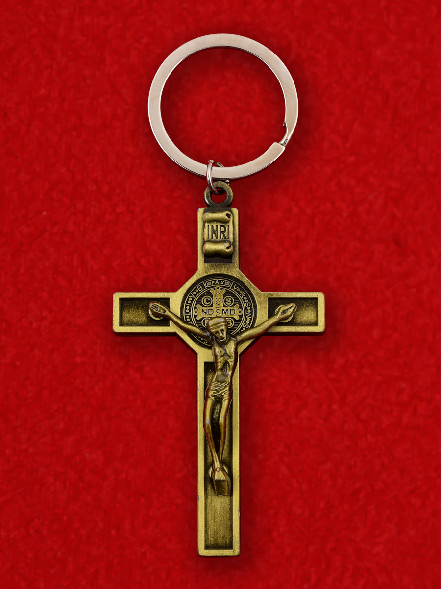 """Католический крест INRI """"Иисус Назарянин"""""""