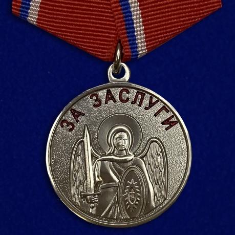 """Казачья медаль """"За заслуги""""-лицевая сторона"""