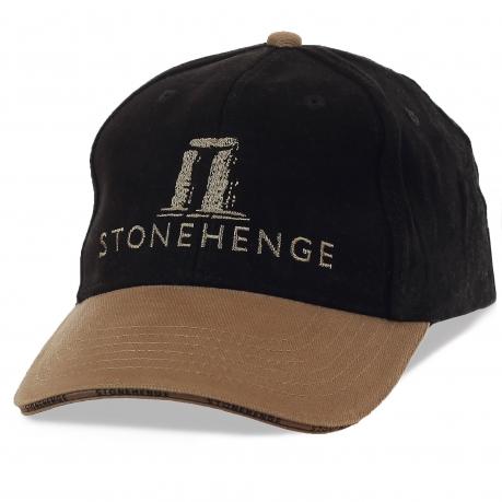 Тематическая молодежная кепка Стоунхендж (Stonehenge). Восьмое Чудо Света и крупнейшая загадка древнего мира на твоей бейсболке!