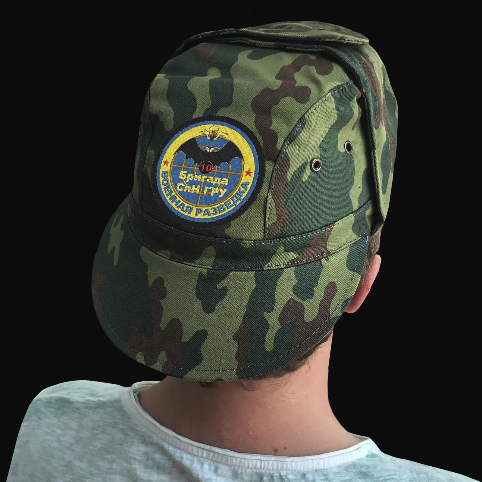 Милитари кепки с шевронами 10 ОБрСпН ГРУ
