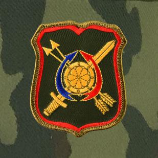 Мужская кепка с шевроном 1231-го Центра боевого управления РВСН.