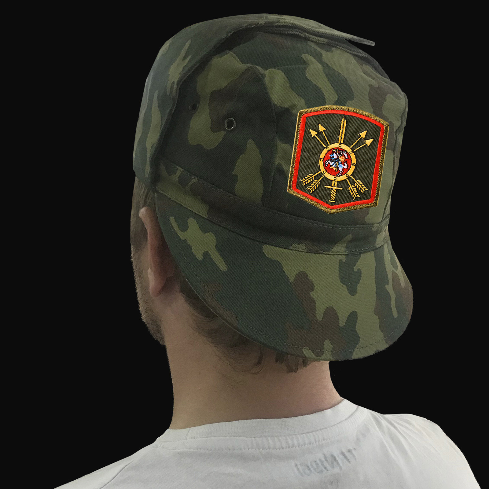 Товары в дизайне Ракетных войск стратегического назначения: кепки, одежда, снаряжение