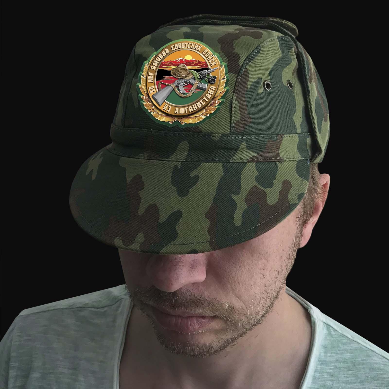 Статусная мужская кепка 30 лет вывода Советских войск из Афганистана