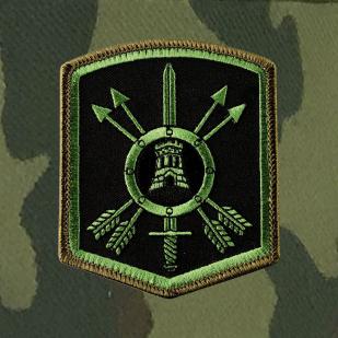 Военная кепка с шевроном 33-й ракетной дивизии РВСН.