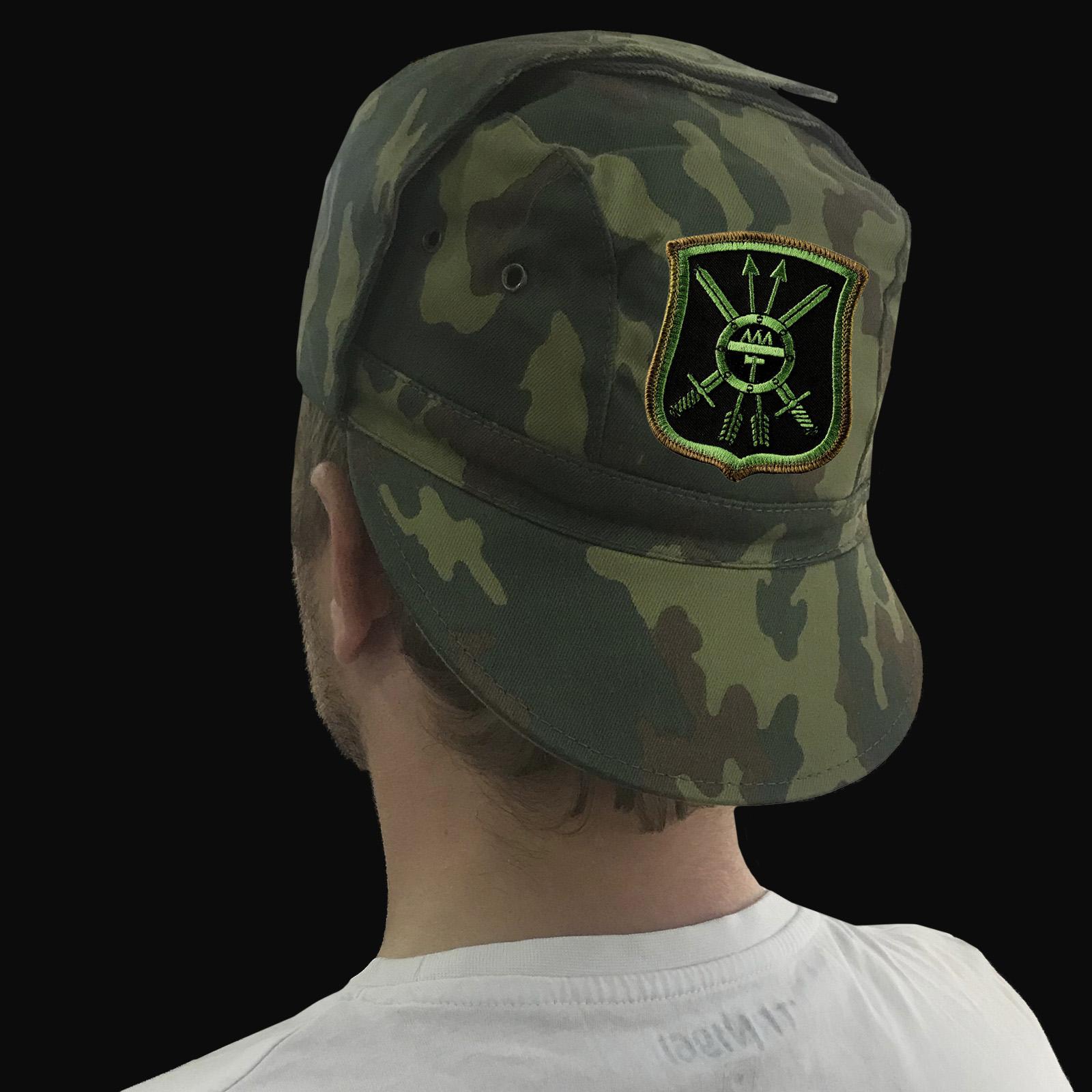 Камуфляжная кепка с символикой ракетных войск России